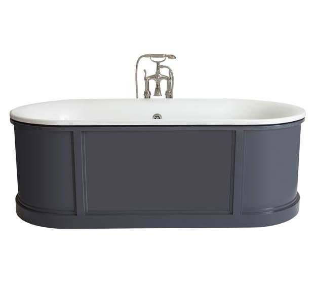 Oval cast iron bathtub NEW CANADA | Bathtub by GENTRY HOME