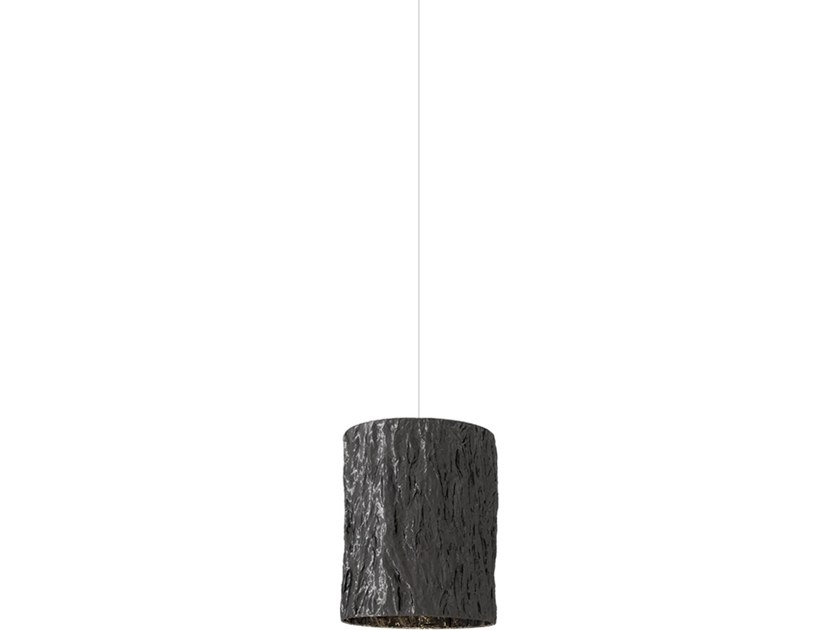 Direct light fabric pendant lamp NEW DAWN H1 by ILFARI