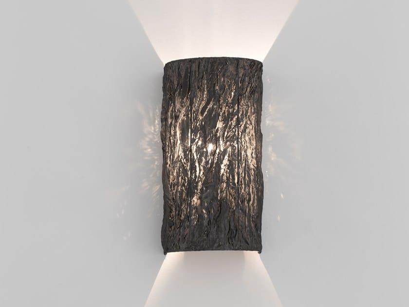 Direct light fabric wall light NEW DAWN W1 by ILFARI