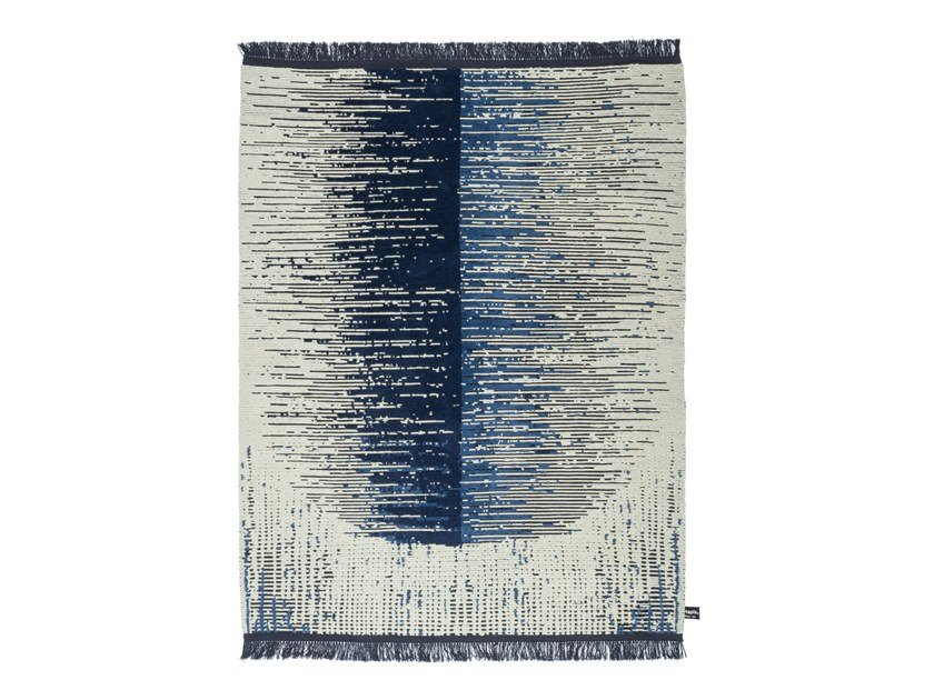 Handmade rectangular rug NEW JAPAN by cc-tapis