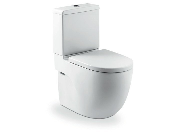 Close coupled toilet NEW MERIDIAN | Toilet by ROCA SANITARIO