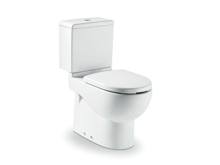 Ceramic toilet for disabled with external cistern NEW MERIDIAN | Toilet for disabled by ROCA SANITARIO