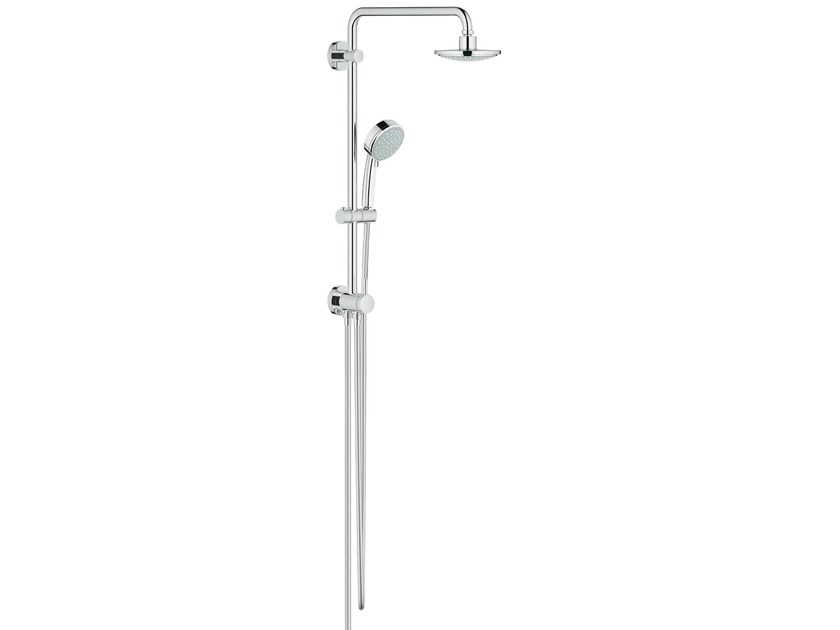 Wall-mounted shower panel with diverter NEW TEMPESTA COSMOPOLITAN | Shower panel by Grohe