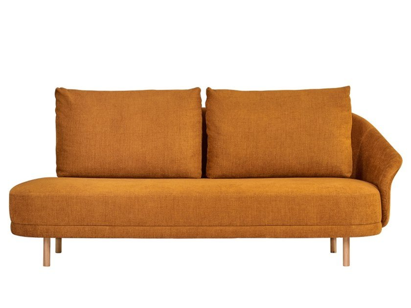 Fabric sofa NEW WAVE - OPEN END by NORR11