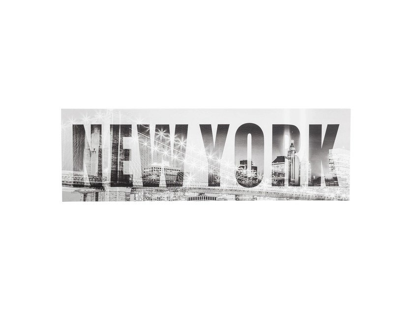 Photographic print NEW YORK BRIDGE by KARE-DESIGN