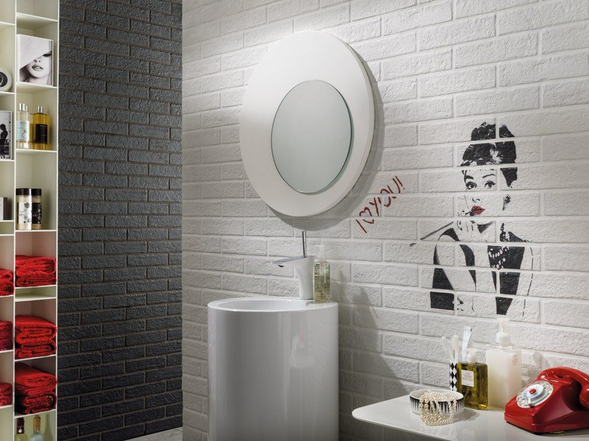 Indoor wall tiles with stone effect NEW YORK by Ceramica Rondine