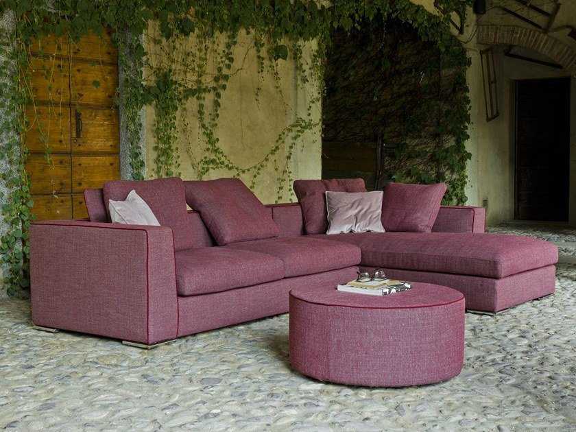 Corner sectional fabric sofa NEW YORK | Corner sofa by Flexstyle