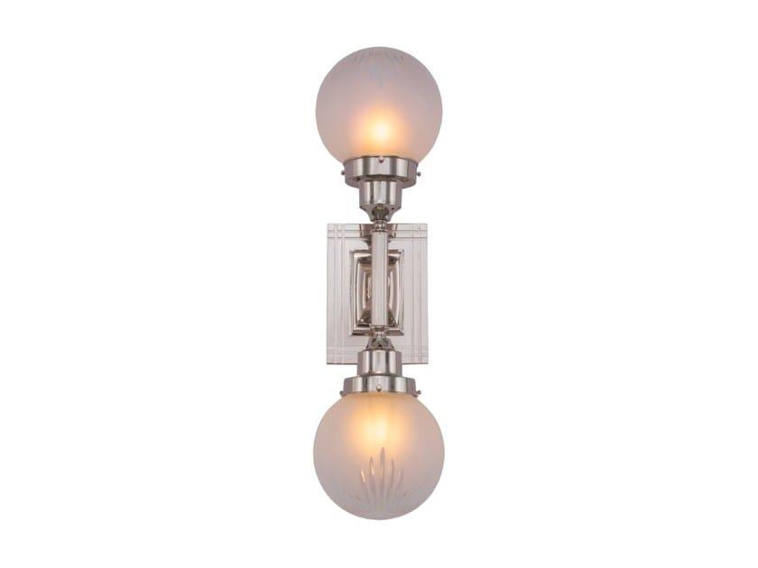 Lampada da parete a luce diretta fatta a mano in ottone PARIS II | Lampada da parete by Patinas Lighting