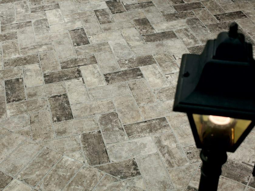 Porcelain stoneware outdoor floor tiles with stone effect NEW YORK | Outdoor floor tiles by CIR