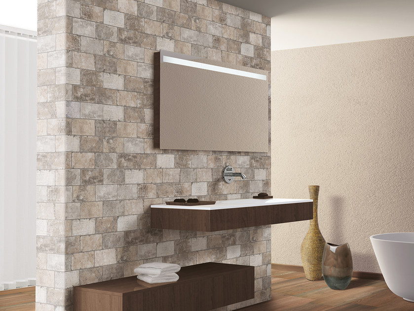 Porcelain stoneware wall/floor tiles with stone effect NEW YORK | Wall tiles by CIR