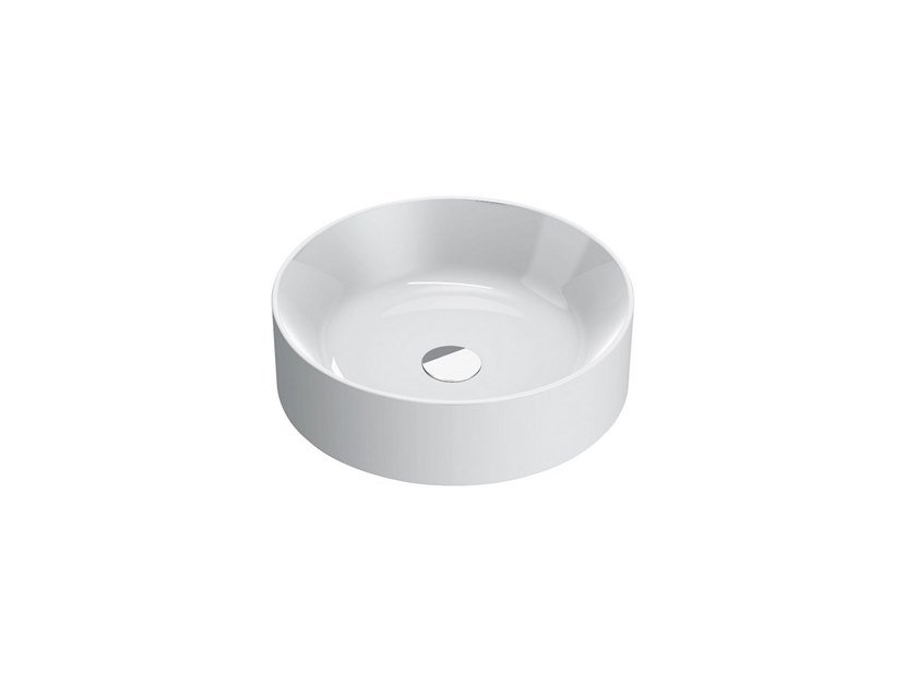 Countertop round washbasin NEW ZERO | Round washbasin by CERAMICA CATALANO