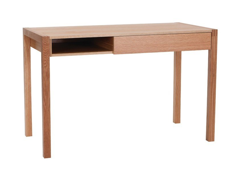 Rectangular wood veneer writing desk NEWEST | Writing desk by Woodman