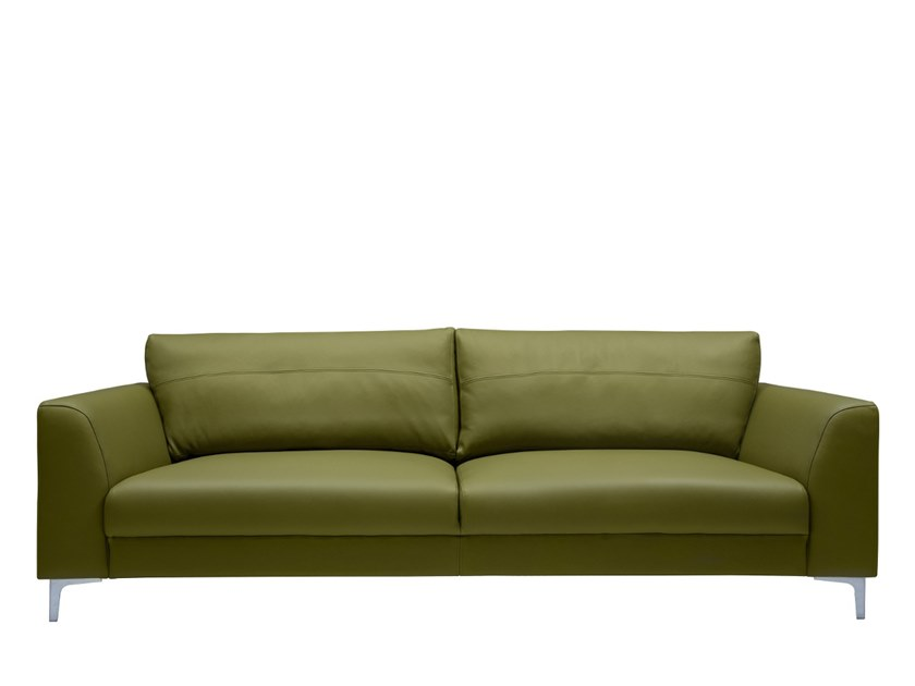 3 seater leather sofa NEWMAN | Leather sofa by SOFTREND