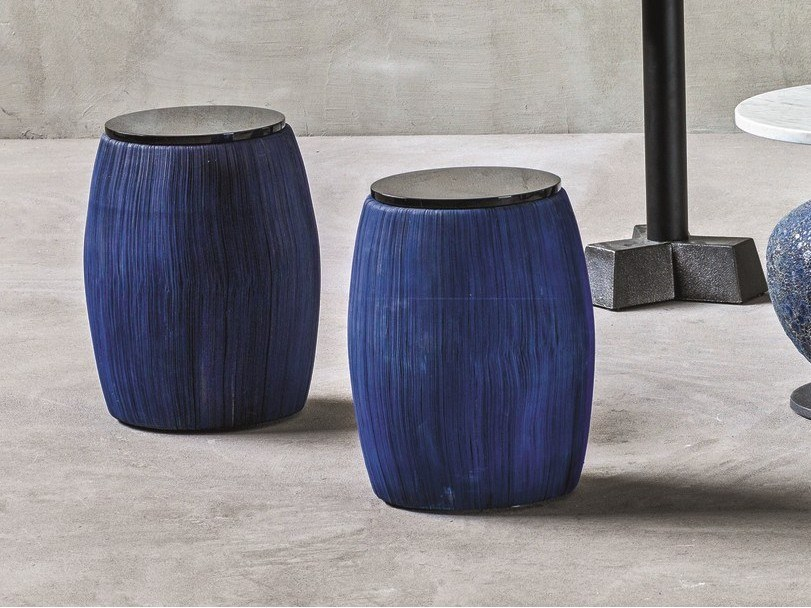 Round paper coffee table for living room NEWS 108 by Gervasoni