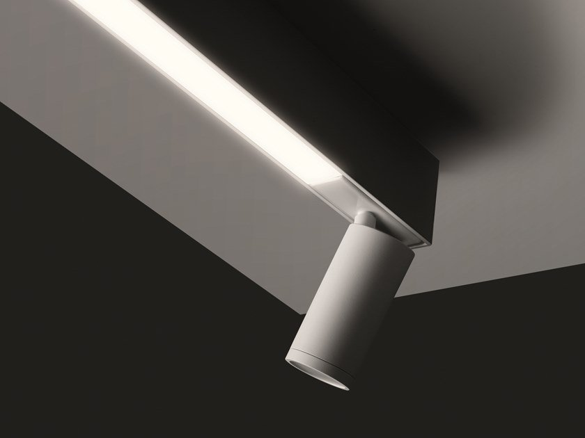 Illuminazione a binario a LED NEWTON RAIL by EGOLUCE