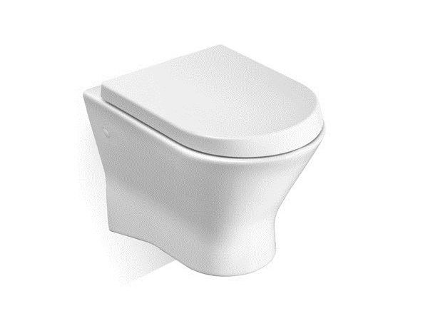 nexo wall hung toilet by roca sanitario design antonio bullo. Black Bedroom Furniture Sets. Home Design Ideas