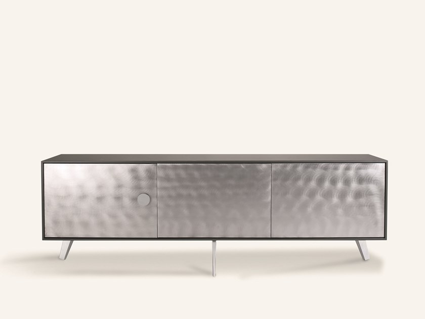 Lacquered sideboard with doors NEXT BASIC by Pallucco