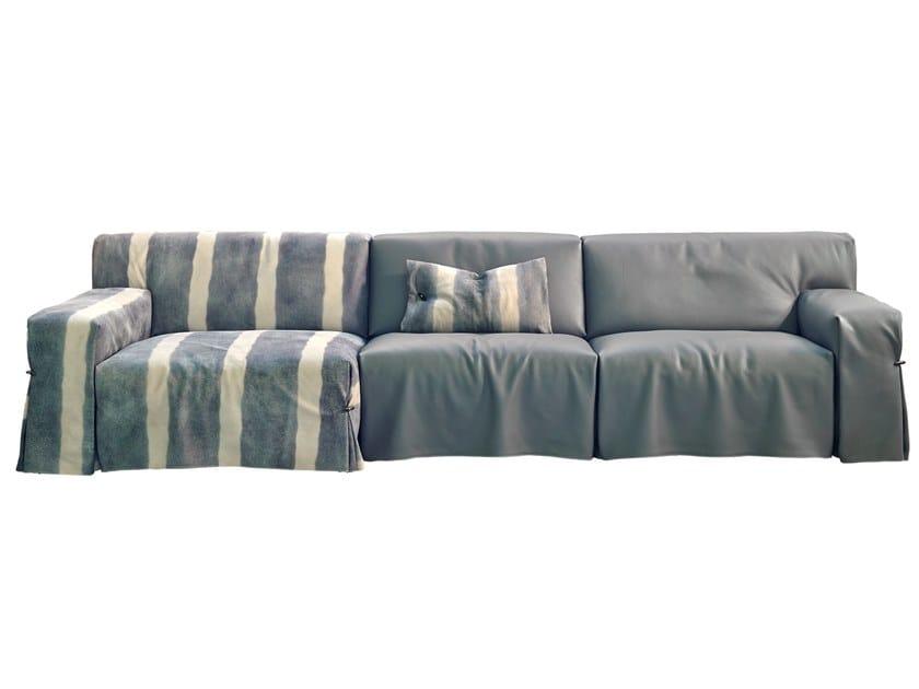 Sectional leather sofa NEXT by Gamma Arredamenti