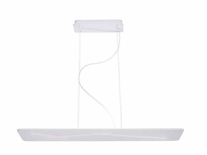 LED polycarbonate pendant lamp NEXT_P by Linea Light Group