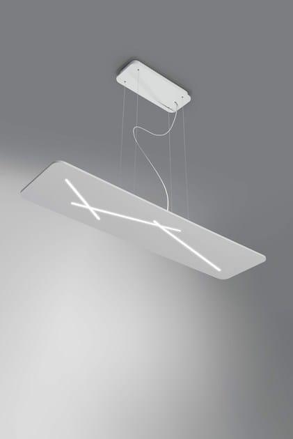 Linea Sospensione Lampada Group Policarbonato p Light Next Led In A EDH9I2