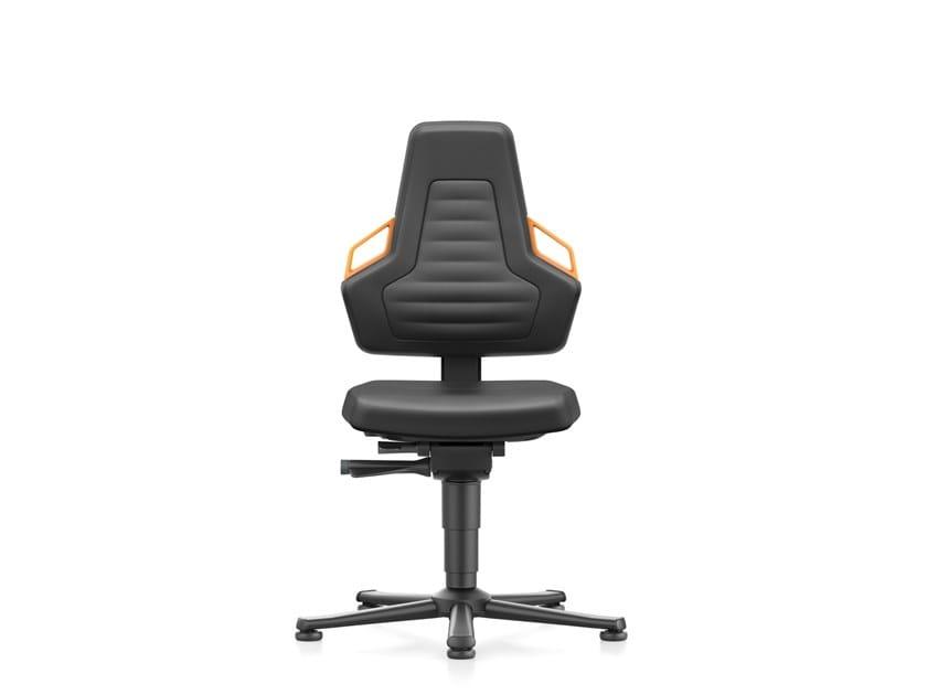 Work chair with 5-Spoke base NEXXIT 9030 by bimos
