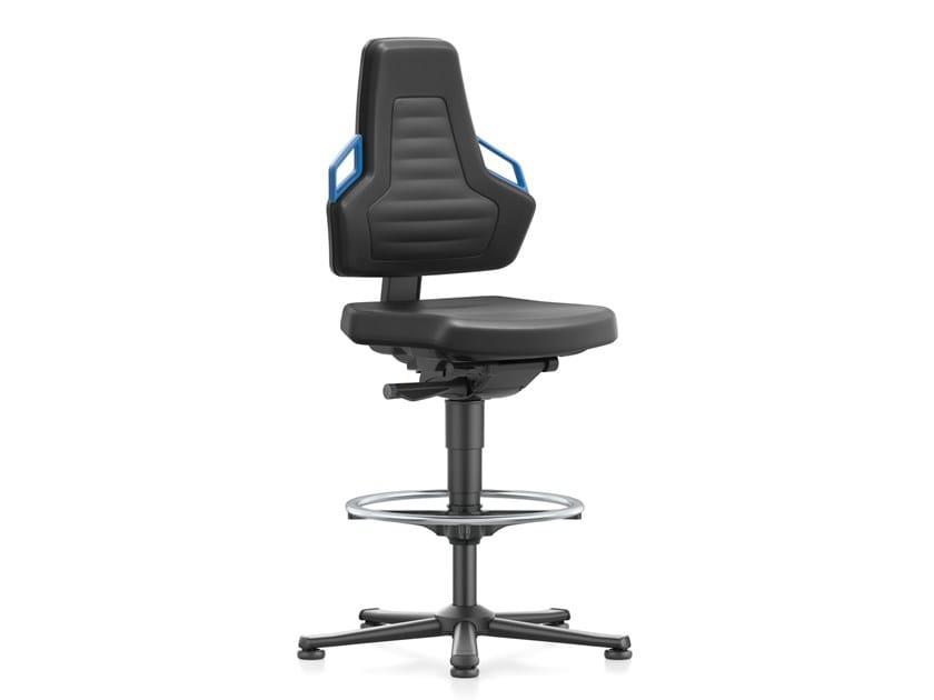 Work chair with 5-Spoke base NEXXIT 9031 by bimos