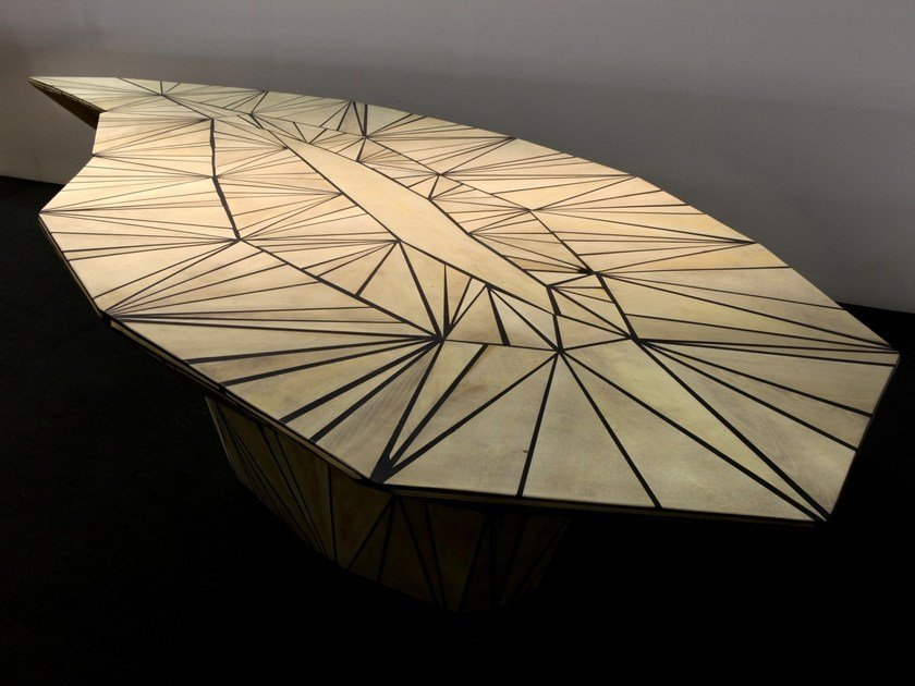 Solid wood table NIBIRU | Table by CEDRIMARTINI