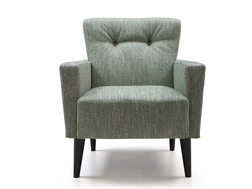 Contemporary style armchair with armrests NICOLE by Bodema