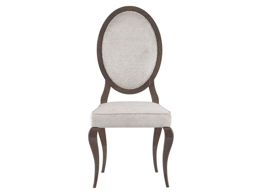 Medallion upholstered velvet chair NICOLE | Velvet chair by Green Apple