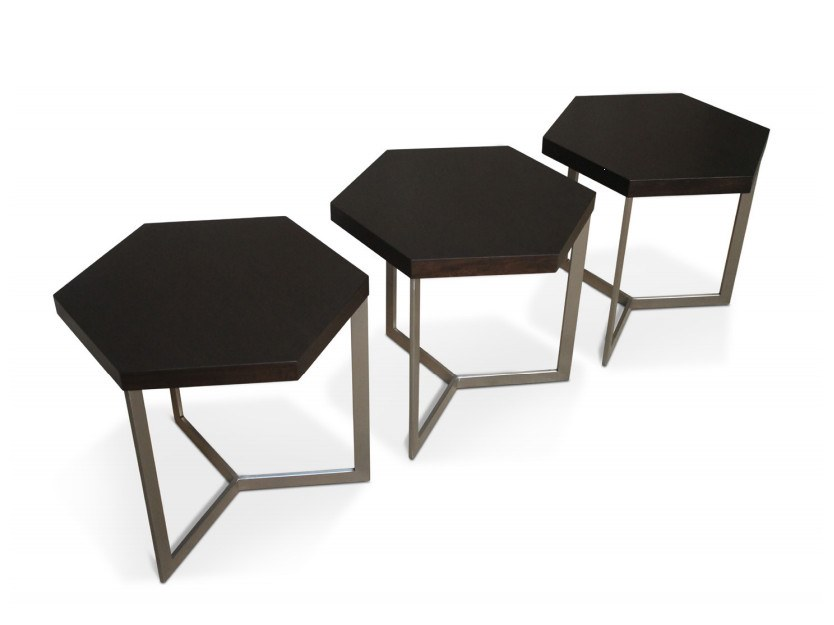 NICOLI | Table basse hexagonale By Costantini