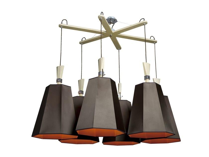 Pendant lamp NID D'ABEILLES GRAND LUXIOLE 6 by designheure
