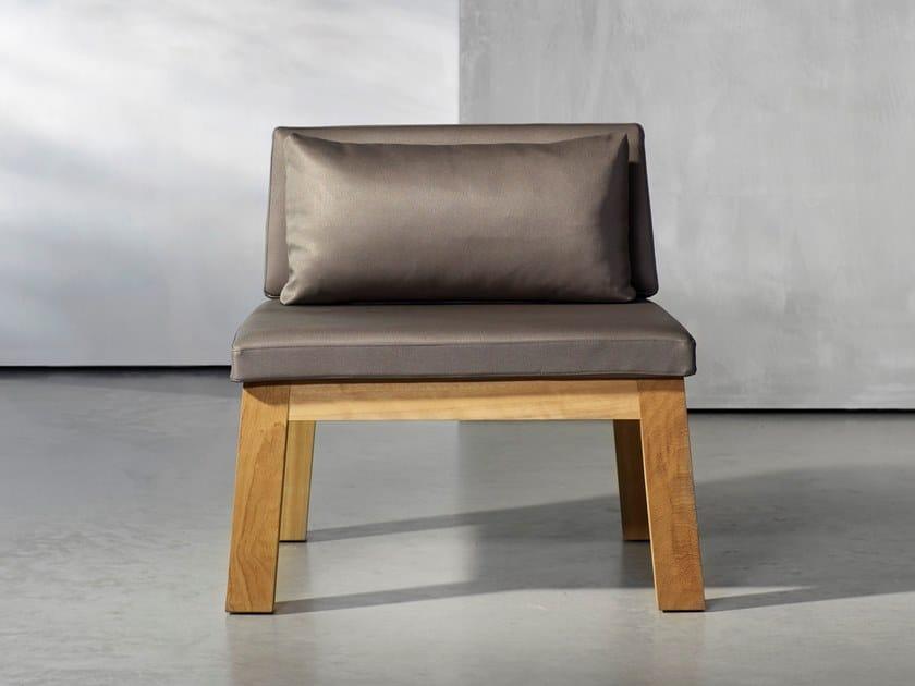 Wooden garden chair NIEK | Chair by Piet Boon
