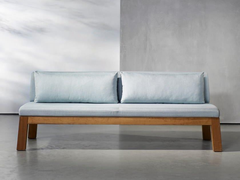 Wooden garden sofa NIEK | Garden sofa by Piet Boon