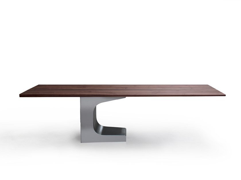 Solid Wood Executive Desk Niemeyer Office By Estel Group