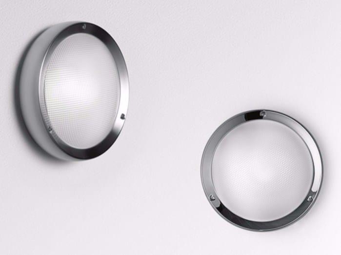 Direct light stainless steel Wall Lamp NIKI by Artemide