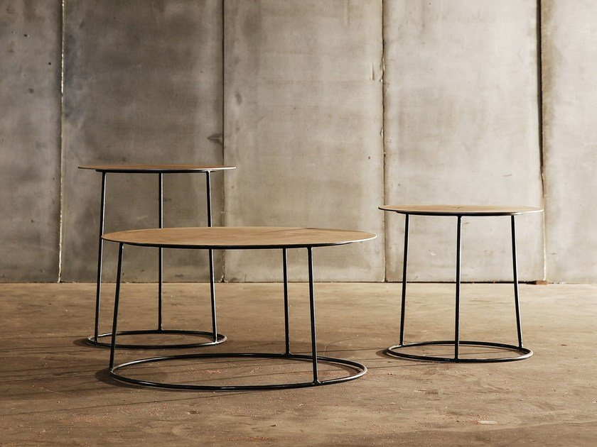 Round coffee table NIMBUS by Heerenhuis