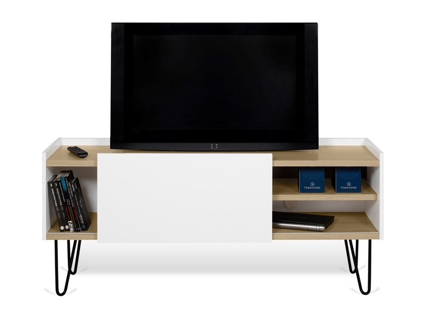 Temahome Nina Tv Cabinet With Sliding Doors