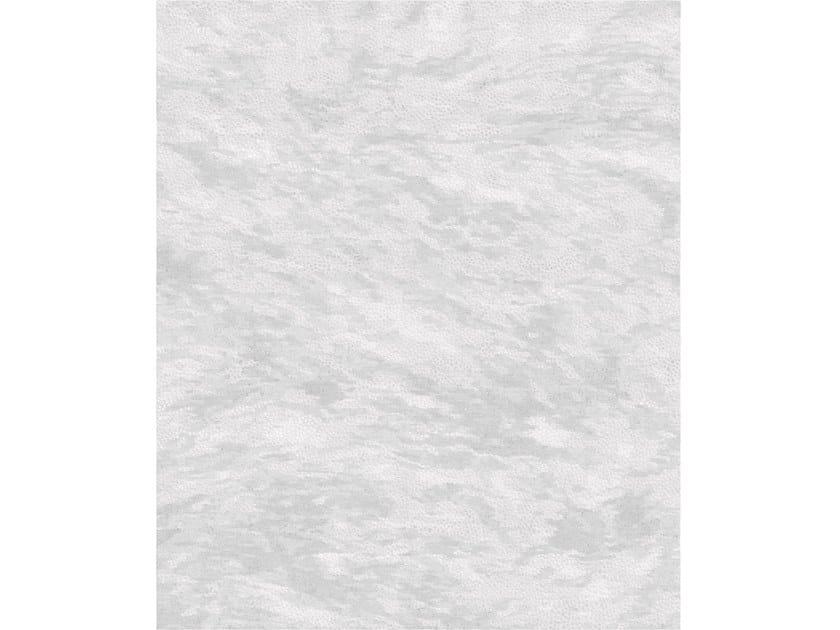 Handmade rectangular rug NINE GREY by Tapis Rouge