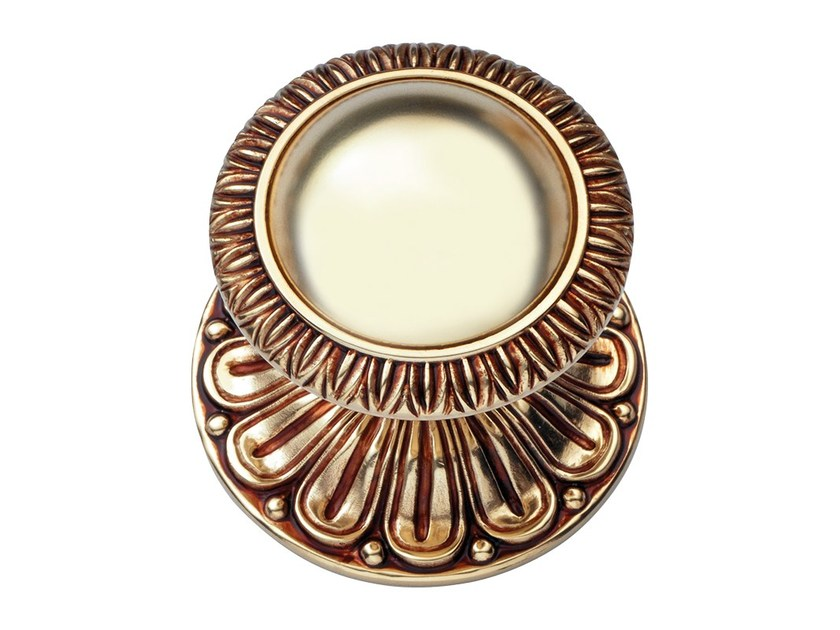 Classic style brass door knob NINFA | Brass door knob by LINEA CALI'