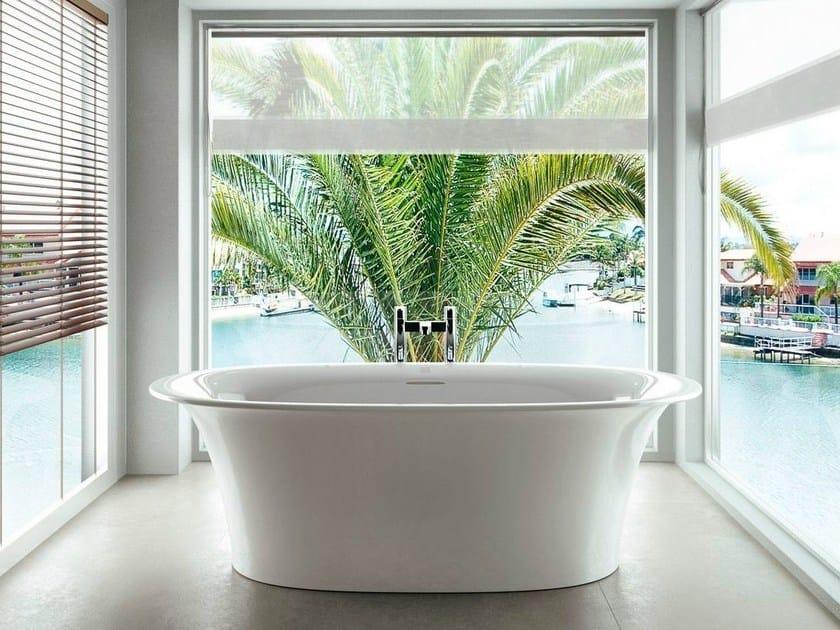 Freestanding oval bathtub NINFEA by Polo