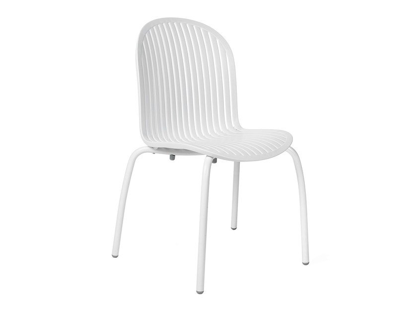 Contemporary style stackable garden chair NINFEA DINNER by Nardi