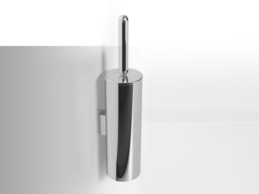 Wall-mounted metal toilet brush NINFEA | Wall-mounted toilet brush by Alna