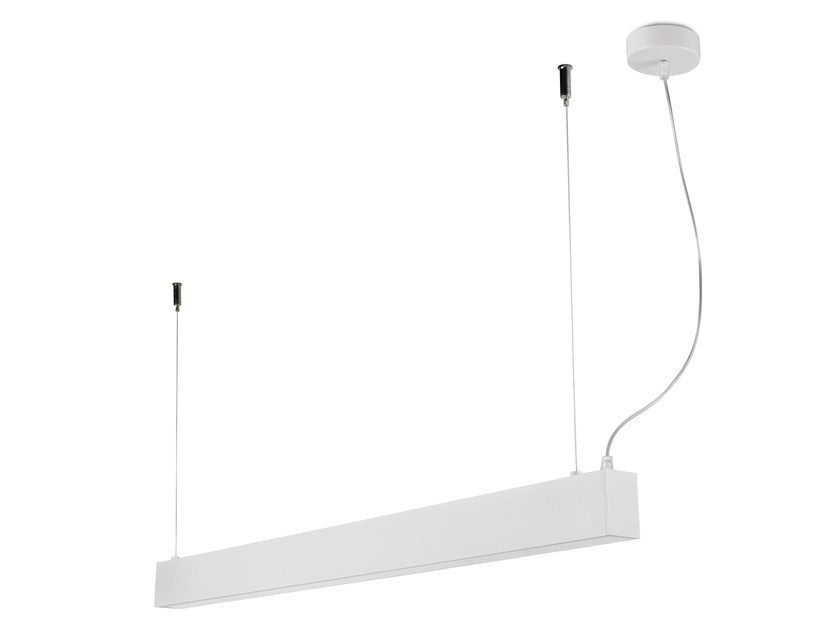 LED aluminium pendant lamp with dimmer NIT UPDOWN by LED BCN
