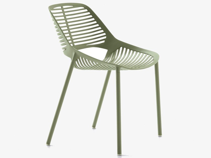 Aluminium garden chair NIWA | Chair by FAST