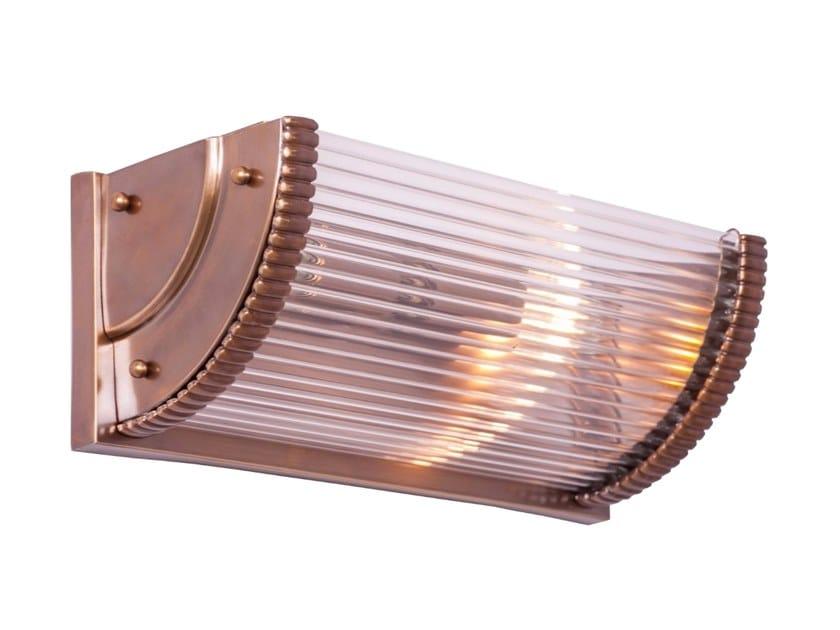 Brass wall light NIZZA II | Wall lamp by Patinas Lighting