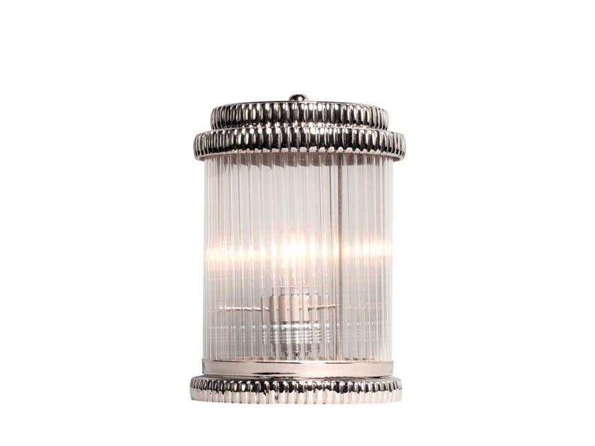 Handmade brass table lamp NIZZA | Table lamp by Patinas Lighting