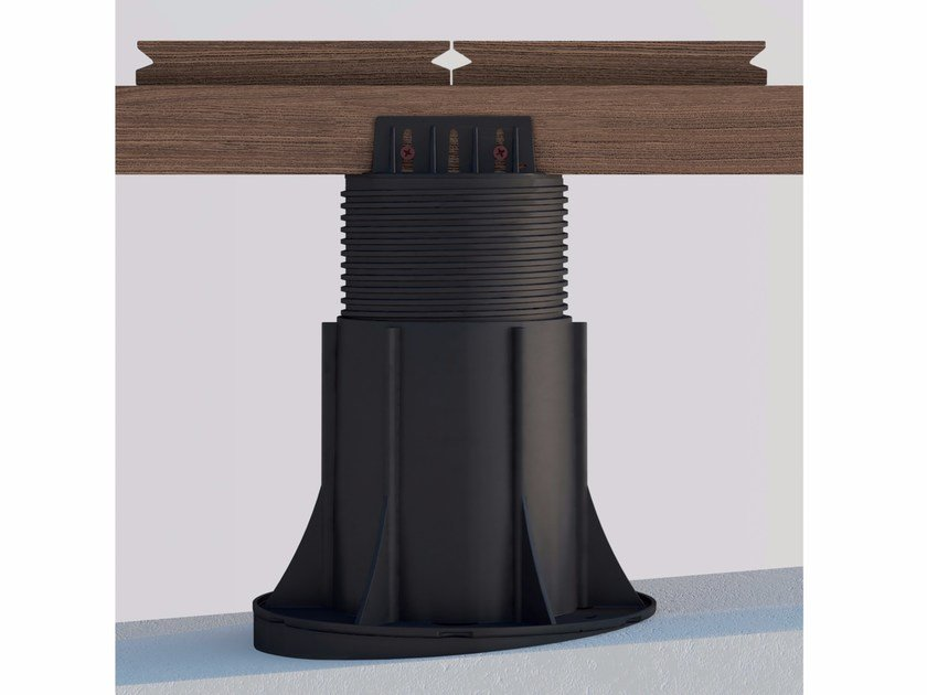 """Modular system for raised flooring """"NM"""" support system for any joist type by ETERNO IVICA"""