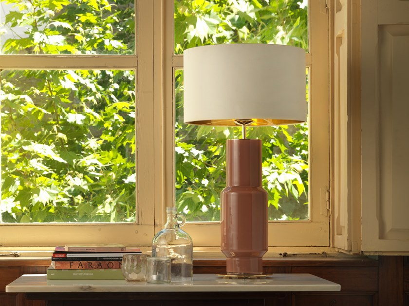 Metal table lamp NOA | Table lamp by Aromas del Campo