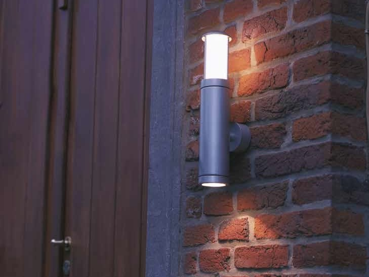 Direct-indirect light metal Outdoor wall Lamp NOBUS G by BEL-LIGHTING