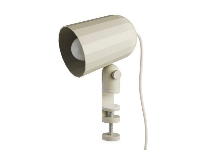 LED adjustable aluminium wall lamp NOC CLAMP by Hay